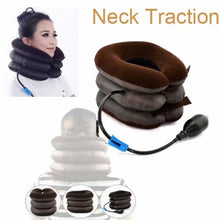 Load image into Gallery viewer, New Air Bag Tractor Cervical Neck Vertebra Traction Soft Brace Device Massager