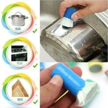 Load image into Gallery viewer, 2 pcs/set Home Decor Cleaning Supplies Magic Decontamination Stick Kitchen Rust Stainless Steel Cleaning Brush Pot Metal Rust Removing Wash Brush Household Cleaning Supplies
