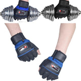 Gym Body Building Training Gloves Sports Weight Lifting Workout Exercise