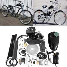Load image into Gallery viewer, 80cc Bike Cycling Motorized Bicycle Engine Motor Kit Muffler Petrol Gas 2-Stroke