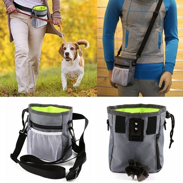 Pet Dog Training Treat Snack Bait Dog Obedience Agility Outdoor Pouch Food Bag Dogs Snack Bag