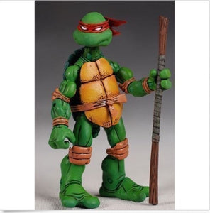 NECA Tmnt Teenage Mutant Ninja Turtles 5' Figure RED Headband Collectible Set 4