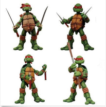 Load image into Gallery viewer, NECA Tmnt Teenage Mutant Ninja Turtles 5' Figure RED Headband Collectible Set 4