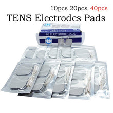 Load image into Gallery viewer, TENS unit Pads 2X2 40 pcs Replacement TENS Electrodes Pads TENS Patches For Electrotherapy