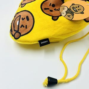 Kpop BTS BT21 Bangtan Boy Cartoon Pocket Comestic Drawstring Cute Bag