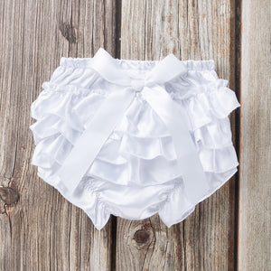 Toddler Baby Infant Girl Bowknot Ruffle Panty Bloomer Nappy Underwear Diaper