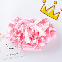 Load image into Gallery viewer, Toddler Baby Infant Girl Bowknot Ruffle Panty Bloomer Nappy Underwear Diaper