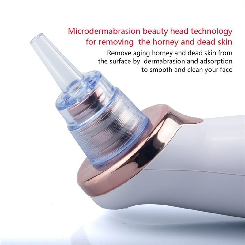 Electric Blackhead Remover Pore Vacuum Suction Diamond Dermabrasion Face Cleaner