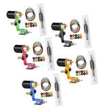 Gralara Complete Tattoo Kit Rotary Tattoo Machine Cartridge Grip Grommets Nipples