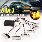12V 18 LED Strobe Warning light LED flash light Ambulance Police light Car Truck Light Flashing Firemen Lights