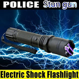 Taser Gun Travel Lightning Electric Shock Flashlight Mini Stun Torch Emergency Rechargeable Flashlight Electric Shock Stick