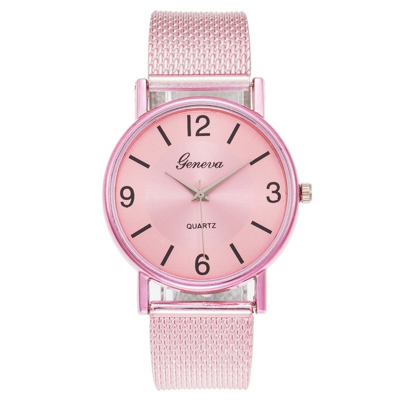 Women's Casual Quartz Strap Band Watch Analog Wrist Watch Women Clock