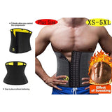 Hot Neoprene Men's Tummy Control Shaping Belt For Weight Loss Slimming Body Shaper Waist Trainer
