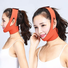 Load image into Gallery viewer, Facial Thin Face Slimming Bandage Mask Skin Care Belt Shape And Lift Reduce Double Chin