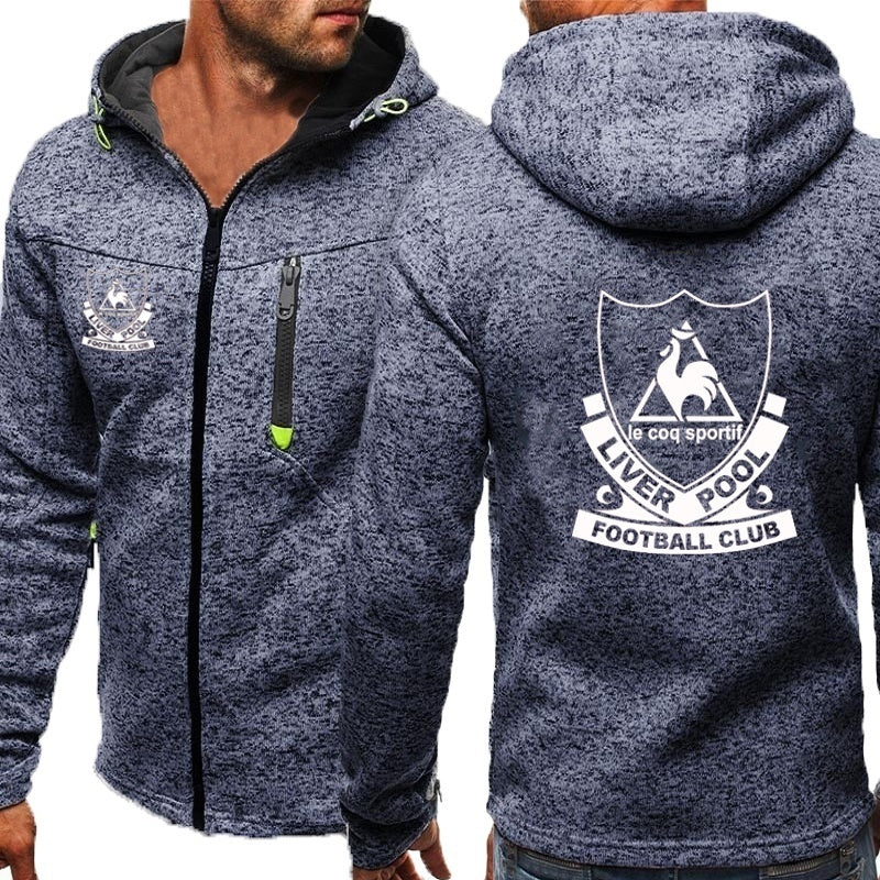 PLUS SIZE S-4XL Mens Hoody Hoodie Zipper Sweatshirt Hooded Jacket Outwear Coat