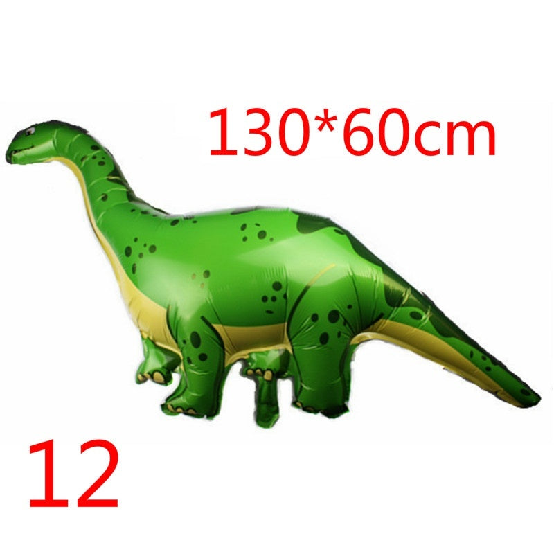 Giant Green Dinosaur Foil Balloon Happy Birthday decoration For Dino World Decorations Jungle Party Supplies Boys Toy