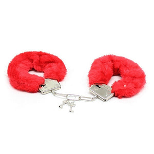 Fashion Fluffy Handcuffs Hand Cuffs Toy Hens Night Police Costume Party Supplies