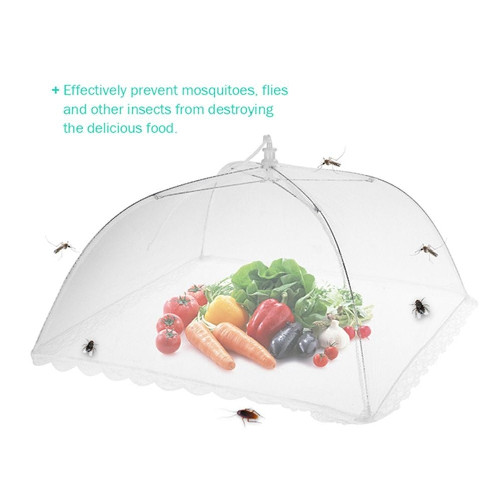 Umbrella Washable Outdoor For Home Anti Flies Cookout Food Cover Anti Mosquito Kitchen Helper Food Protector