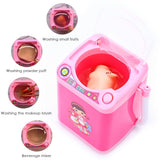 Mini Electric Washing Machine Make Up Brush Washing Tools Automatic Cleaning Washing Machine