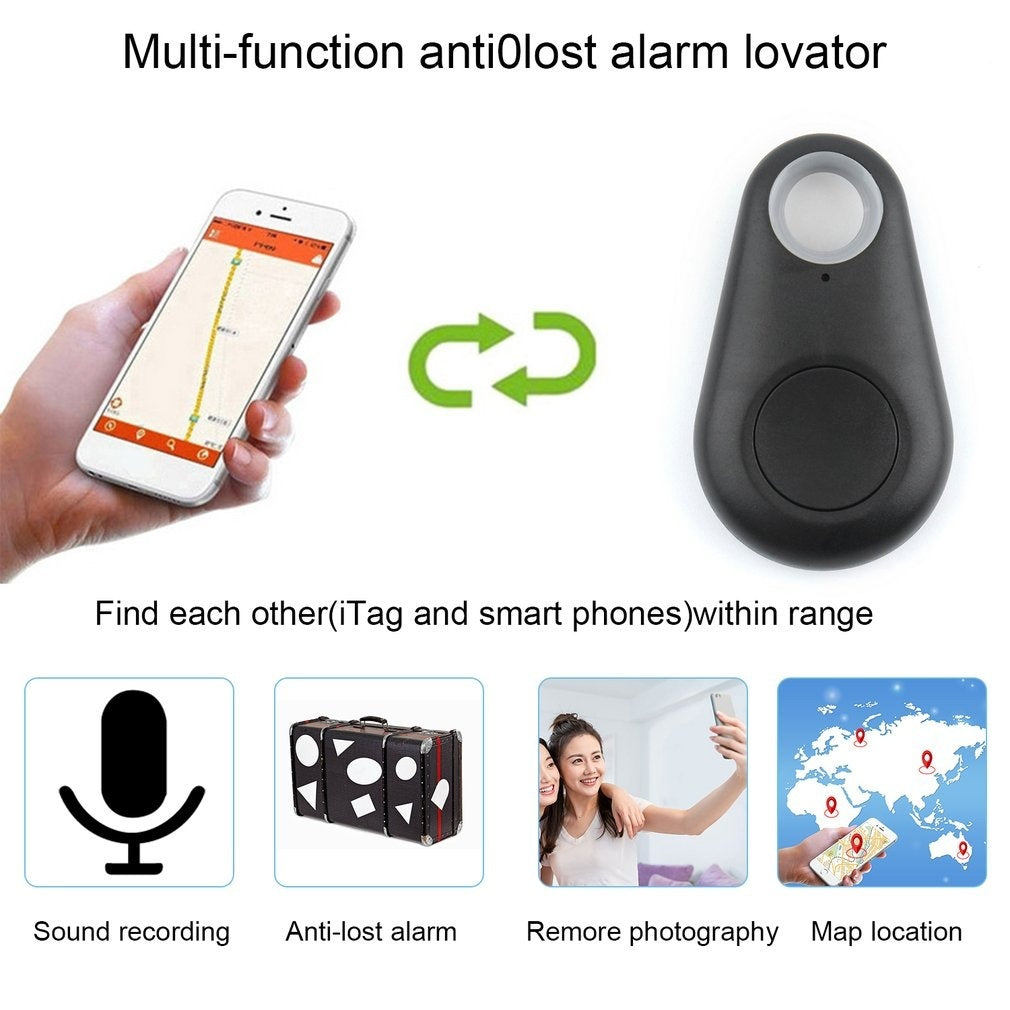 Smart Bluetooth Tracker GPS Locator Key Wallet Pet Dog Tracker