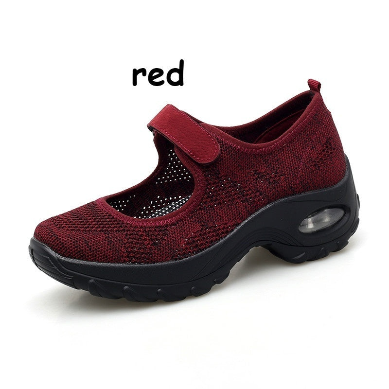 Women's Casual Walking Shoes Platform Shoes Nursing Shoes Breathable Work Sneakers