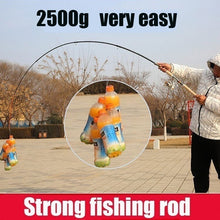 Load image into Gallery viewer, 2.1m 2.4m 2.7m 3.0m 3.6m Carbon Fiber Fishing Rod Telescopic Fishing Pole Carp Feeder Spinning Rod