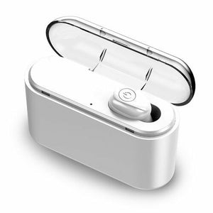 Hand-free Portable Wireless Bluetooth 5.0 Headset Built-in 3000mAh Power Bank for Phone 5D Stereo Headphone CVC 8.0 Noise Cancelling Sport In Ear Earbuds