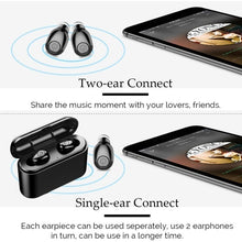 Load image into Gallery viewer, Hand-free Portable Wireless Bluetooth 5.0 Headset Built-in 3000mAh Power Bank for Phone 5D Stereo Headphone CVC 8.0 Noise Cancelling Sport In Ear Earbuds