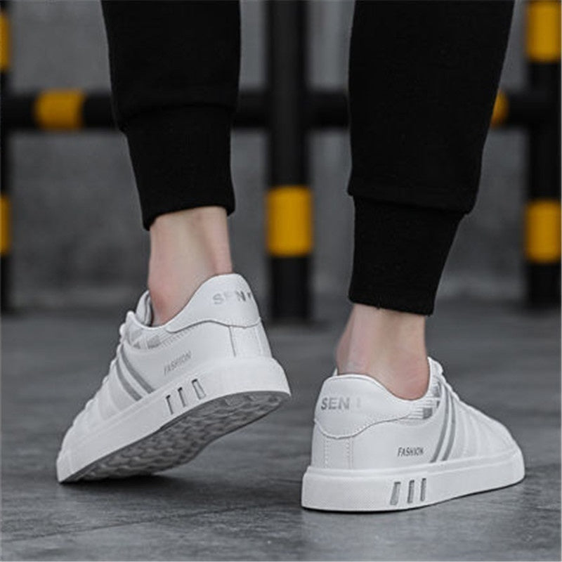 NEW Spring White Shoes Men Shoes Men's Casual Shoes Fashion Sneakers Street Cool Man Footwear