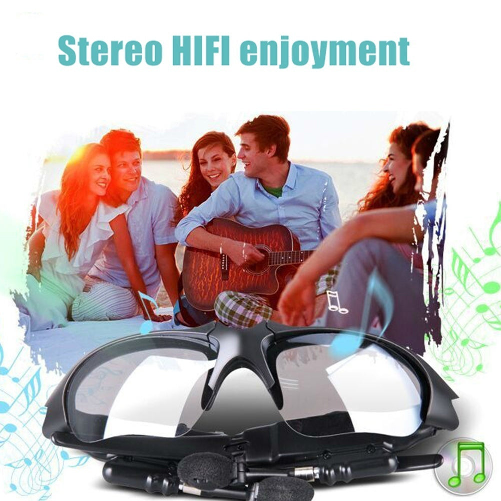 New Fashion Call Voice Prompt Smart Wireless V3.0 Bluetooth Sunglasses Headset Music Player