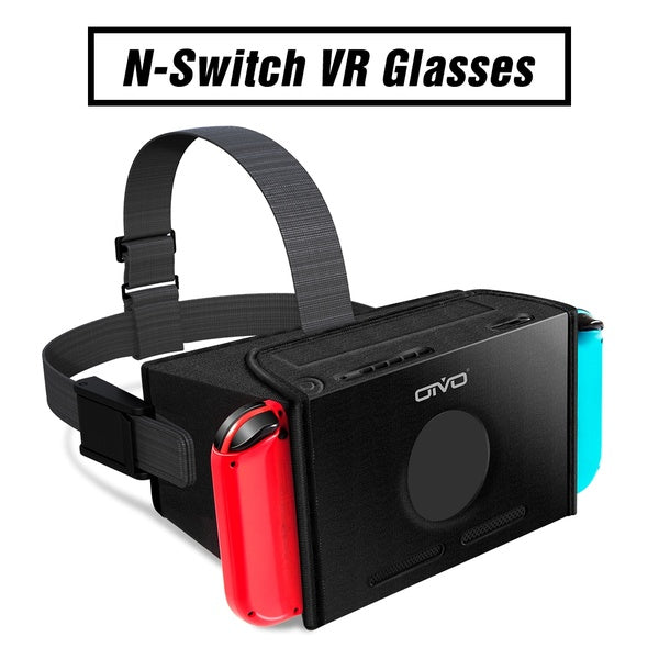 OIVO New VR Headset for Nintendo Switch, 3D Labo Virtual Reality Glasses Headset for Super Smash Bros. & Zelda & Super Mario Odyssey