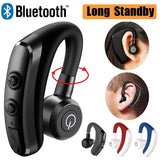 Truly Wireless Bluetooth Earphone with Mic Voice Control Stereo Noise Cancellation Headphone Handsfree Business Headset for Smartphone