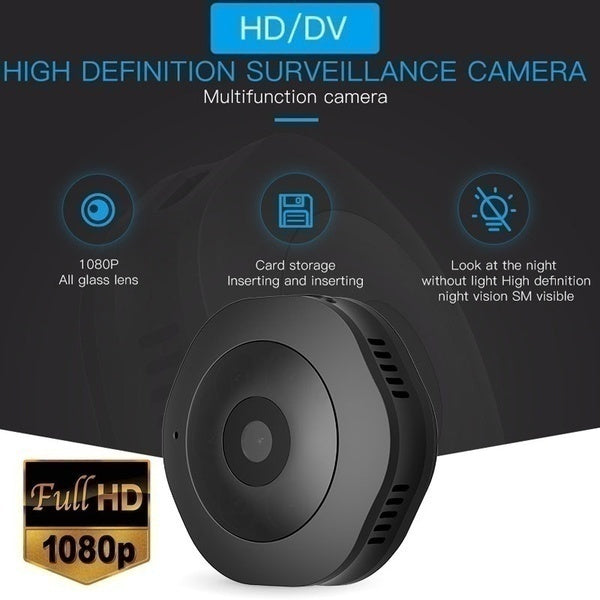 Newest Ultra HD 1080P Mini WIFI SPY Camera Hidden Camera Photography Ip Camera Micro Wireless Wide Angle Photography Video Motion Sensor Camcorders DVR Infrared Security Survillance Night Vision Camera