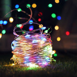 LED Fairy String Light Music Led String Lights Sound Activated Twinkle Lamp with Remote Control Waterproof Home Decor for Festival Party Curtain Bedroom Decorations