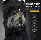 Camouflage Hunting Accessories Masks Ghost Tactical Outdoor Military Cyling Skull Full Face Mask Helment