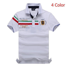 Load image into Gallery viewer, Embroidery Aeronautica Militare T-shirts Men's Polo T-Shirts Summer Brand Cotton Air Force One