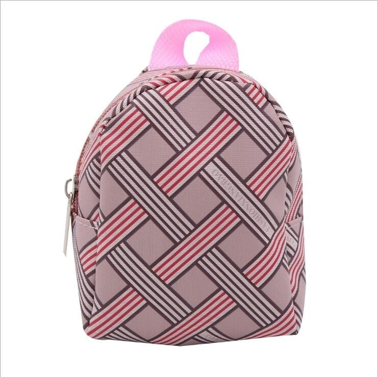 Baby Doll Cool Fashion Double Straps Backpack Schoolbag for 18 Inch Our Girl Doll