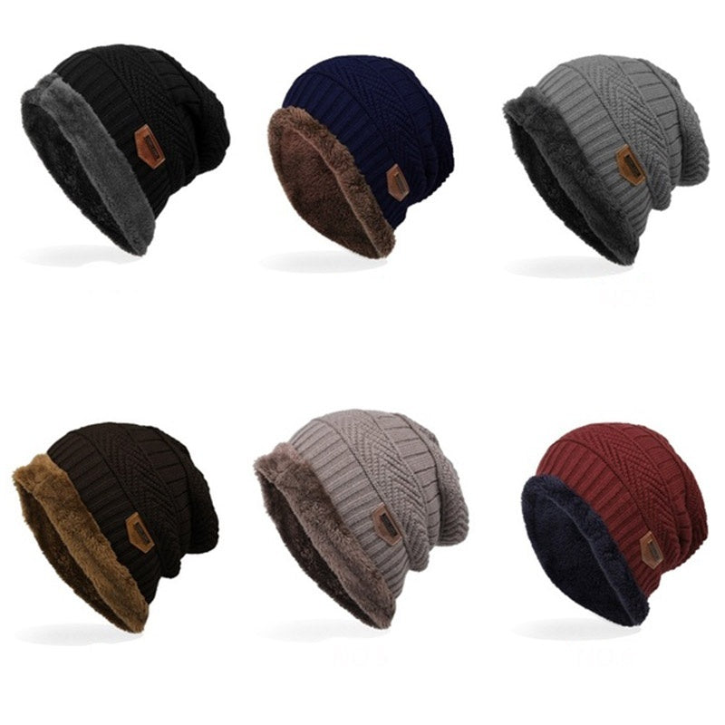 New Solid Color Knit Beanies Hat Winter Hats Warm Man Woman Multiple Colour Outdoor Ski Soft Cap Beanie Bone Sport