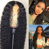 Brazilian Human Hair Wigs  Lace Frontal Wig Hair Curly Peruvian Virgin Wigs