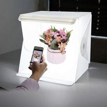 Load image into Gallery viewer, Portable Folding Lightbox Photography LED Light Room Photo Studio Light Tent Soft Box Backdrops for Digital DSLR Camera Photo Studio