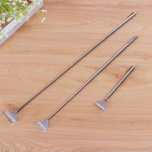 Load image into Gallery viewer, 1pc  Stainless Steel Telescopic Back Scratcher Extendable Itch Scratching Tool