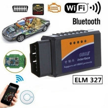 Load image into Gallery viewer, WIFI Bluetooth ELM327 Scanner Wireless OBD2 Auto Scanner Adapter WIFI Scanner Scan Tool for IOS&Android V1.5 BHT