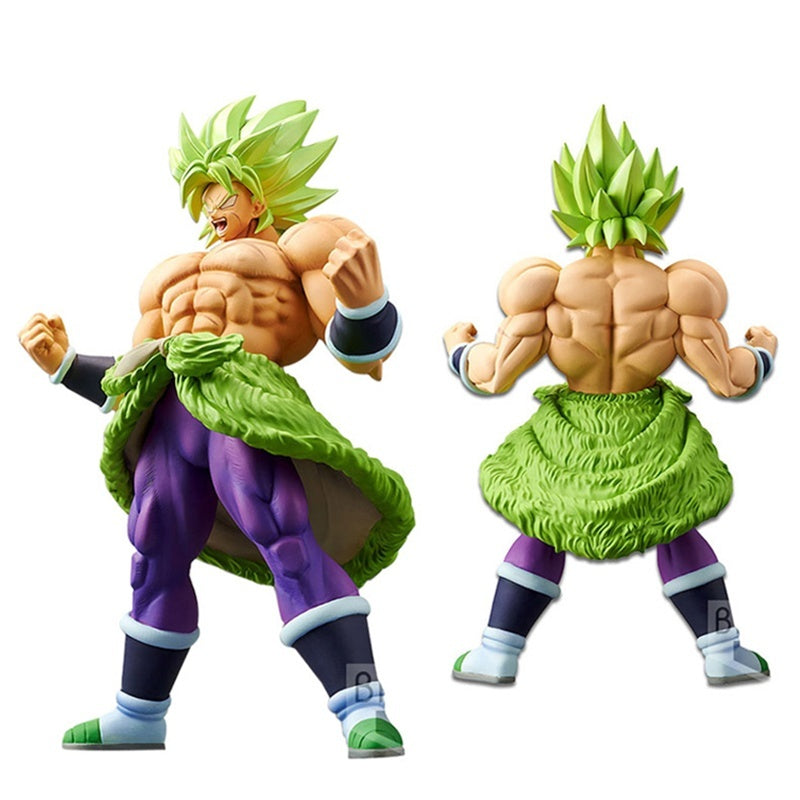 Dragon Ball Super Broly 4 Type Collectible Figurines Model