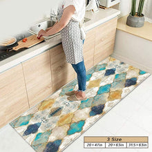 Load image into Gallery viewer, Moroccan Kitchen Mats, Non-slip Mat & Kitchen Rug,Perfect for Kitchens and Bathroom,3 Sizes(20*47in,20*63in,31.5*63in)