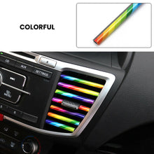 Load image into Gallery viewer, 10 Pcs/set Car Accessories AUTO Colorful Air Conditioner Air Outlet Decoration Strip