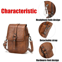 Load image into Gallery viewer, Retro Small PU Leather Women Crossbody Bag Satchel Shoulder Phone Purse Wallet Messenger Bags
