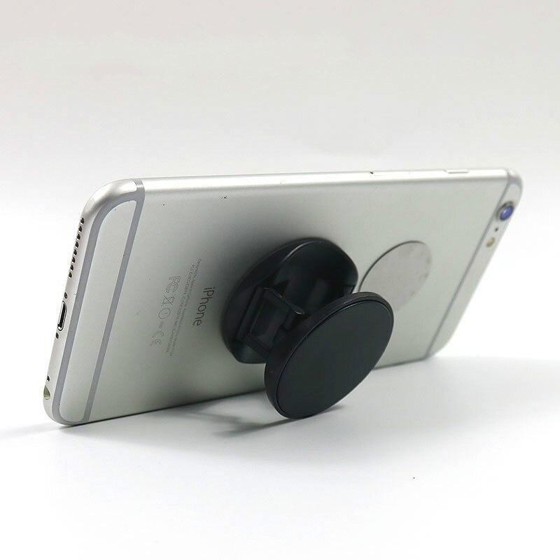 Original Metal Surface Expanding Phone Holder Universal Mobile Phone Finger Grip Holder Flexible Phone Stand