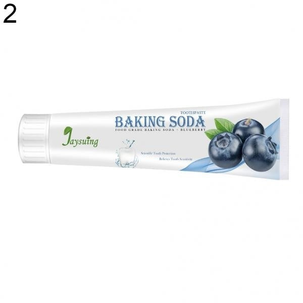 Soda Fruit Toothpaste Stain Removal Whitening Repairing Gums Fresher Oral Paste