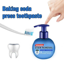 Load image into Gallery viewer, Soda Fruit Toothpaste Stain Removal Whitening Repairing Gums Fresher Oral Paste