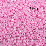 1000Pcs Hot Sell Czech Glass Seed Round Loose Spacer For beads Jewelry Making 2mm